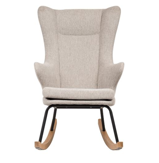 QUAX - ROCKING ADULT CHAIR DE LUXE SAND