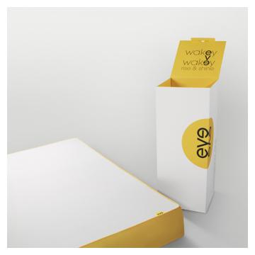 eve matelas simple 90x190. Black Bedroom Furniture Sets. Home Design Ideas
