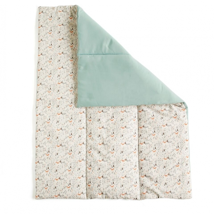MELOCOTON - FOXY QUILTED BLANKET / PLAYPEN MAT
