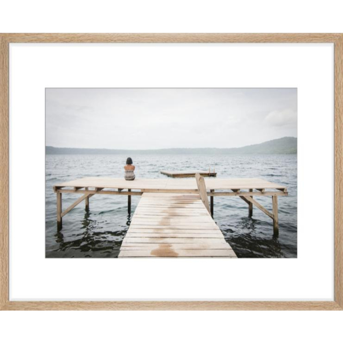 Art Photo in Natural wood frame 30x40
