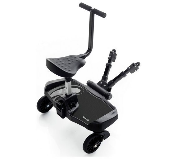Bumprider - Ride-on-board with seat - Black