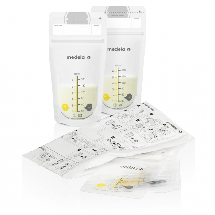 MEDELA - 25 BREAST MILK STORAGE BAGS