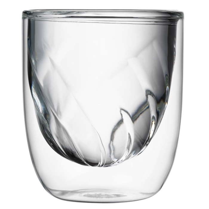 Elements set of 2 double-walled glasses fire 210ml