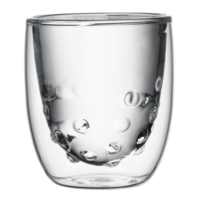 Elements set of 2 double-walled glasses water 75ml