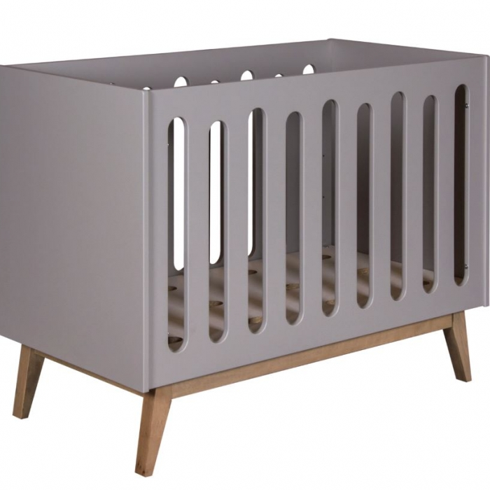 QUAX - TRENDY COT/BENCH 120 * 60 CM - GRIFFIN GREY