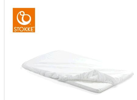 Stokke® - Home™ Cradle Fitted Sheet White 2pc