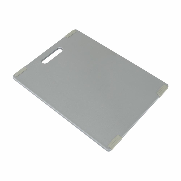 Non-slip cutting board grey 36.8x27.7cm