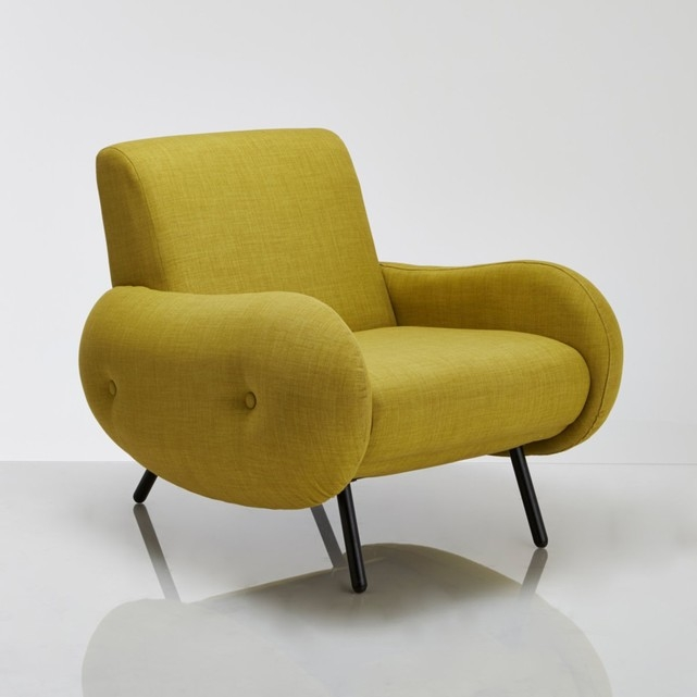 Fauteuil vintage, Watford  Moutarde