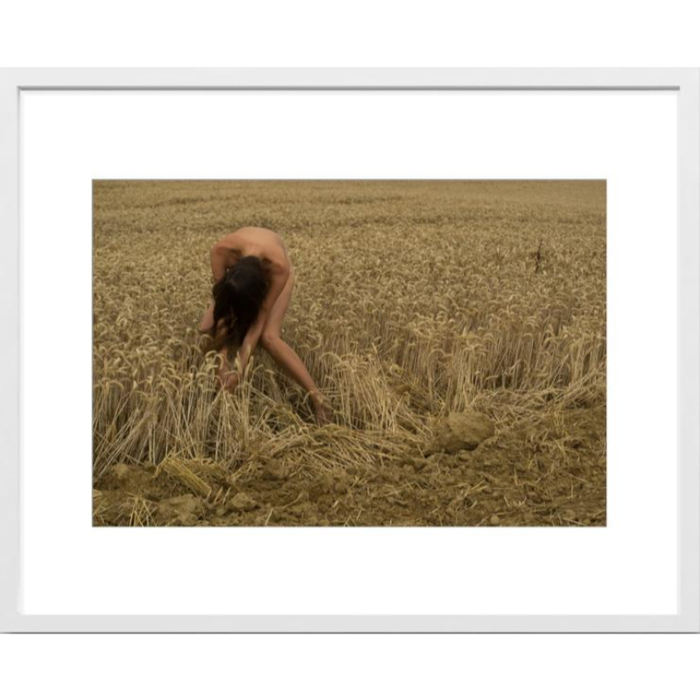 Art Photo in White wood frame 30x40