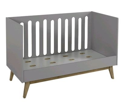 QUAX - TRENDY COT/BENCH 140 * 70 CM - GRIFFIN GREY