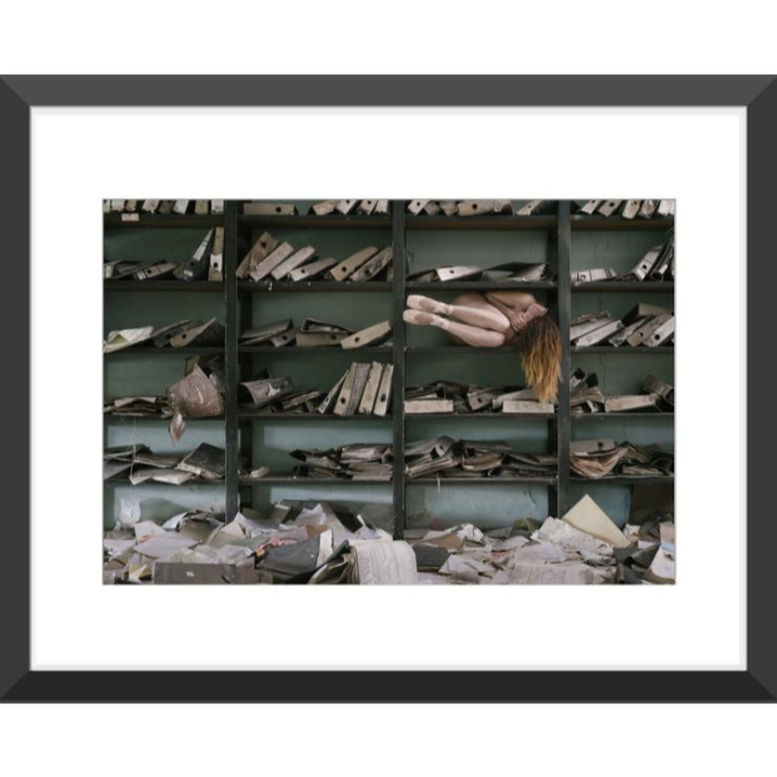 Art Photo in Black wood frame 40x50