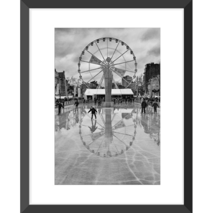 Art Photo in Black wood frame 30x40