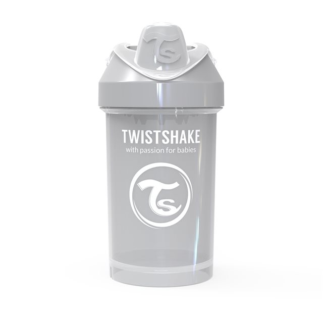 TWISTSHAKE - GOBELET 300ML PASTEL GREY  (CRAWLER CUP)