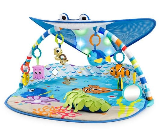 BRIGHT STARTS - MR. RAY OCEAN LIGHTS ACTIVITY GYM