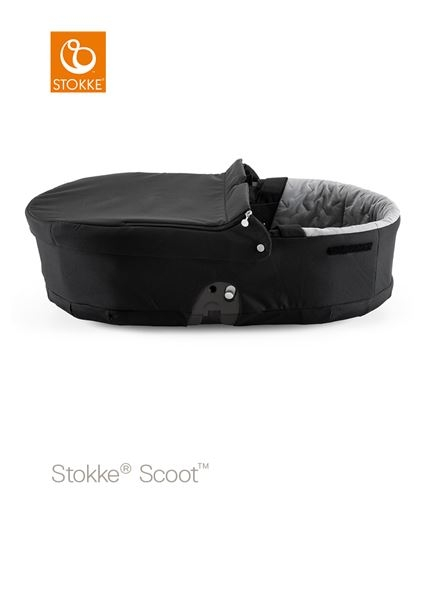 STOKKE® - SCOOT™ CARRY COT BLACK